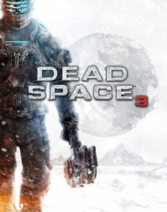 Dead Space 3 - Cover art, featuring series protagonist Isaac Clarke