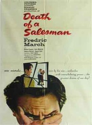 Death of a Salesman (1951 film) - Theatrical release poster