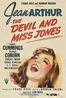 <i>The Devil and Miss Jones</i> 1941 film by Sam Wood