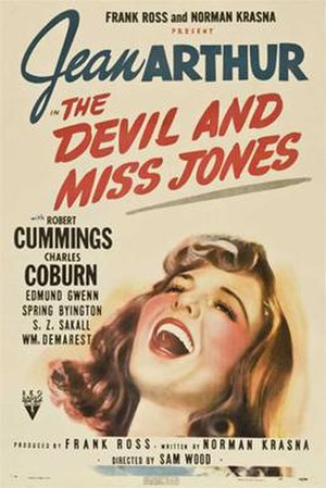 The Devil and Miss Jones - Theatrical release poster