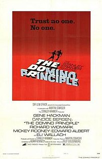 <i>The Domino Principle</i> American neo noir thriller film directed & produced by Stanley Kramer