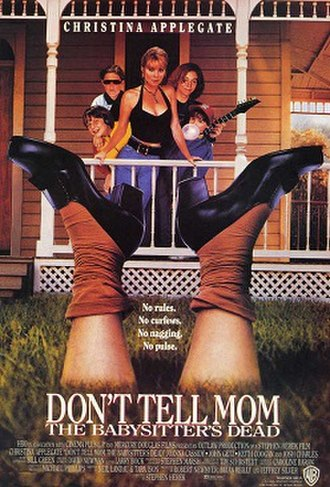 Don't Tell Mom the Babysitter's Dead - Theatrical release poster