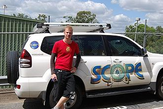 Robert James Bell - Dr Rob and the Scope car