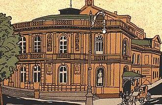 L'Orfeide - The Stadttheater in Düsseldorf where L'Orfeide received its world premiere in 1925