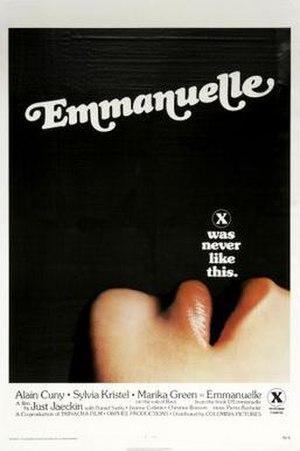 Emmanuelle (film) - Image: Emmanuelle american poster