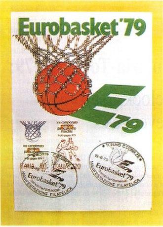 EuroBasket 1979 - Image: Euro Basket 1979 logo