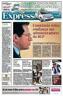 <i>Expresso</i> (newspaper) newspaper
