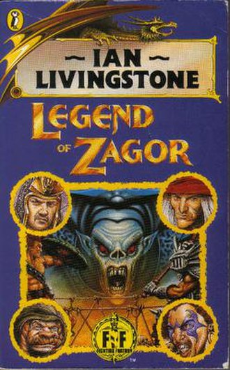 Legend of Zagor - Jim Burns cover (1993)