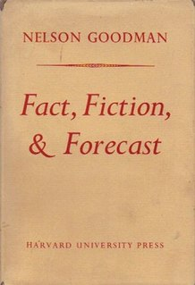 <i>Fact, Fiction, and Forecast</i> book by Nelson Goodman