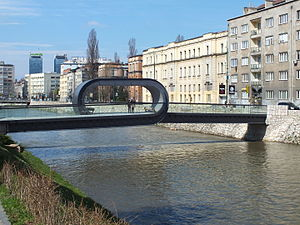 Festina lente (bridge) - Festina lente Bridge April 2015