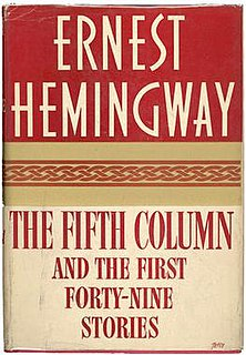 <i>The Fifth Column and the First Forty-Nine Stories</i> anthology