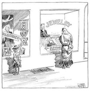 Gaar Williams - Gaar Williams' cartoon (February 12, 1934)