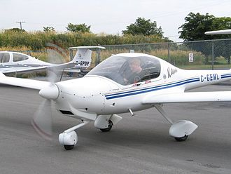 General aviation - A Diamond DA20, a popular trainer used by many flight schools