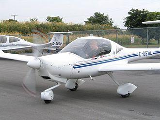 General aviation - A Diamond DA20, a popular trainer used by many flight schools