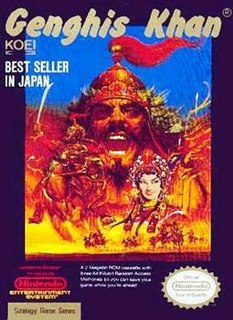 <i>Genghis Khan</i> (video game) 1987 video game