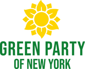 Green Party of New York - Image: Green Party of New York logo