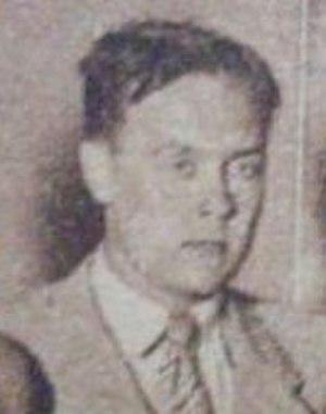 Gunnar Friedemann - Gunnar Friedemann in 1939.