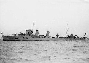 HMS Acheron (H45) - Image: HMS Acheron (A class destroyer)