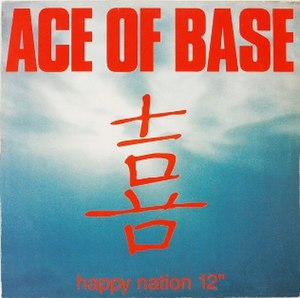 Happy Nation (song) - Image: Happynationsingle