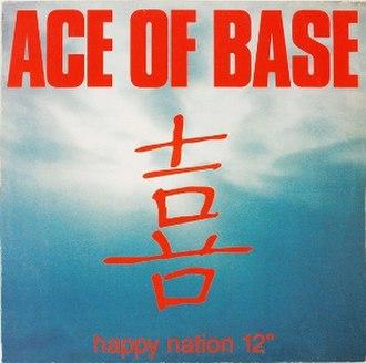 Happy Nation (song) - Image: Happynationsingle