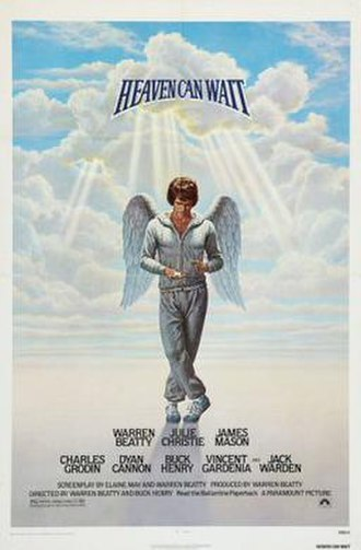 Heaven Can Wait (1978 film) - Theatrical release poster by Birney Lettick