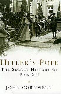 <i>Hitlers Pope</i> book by John Cornwell
