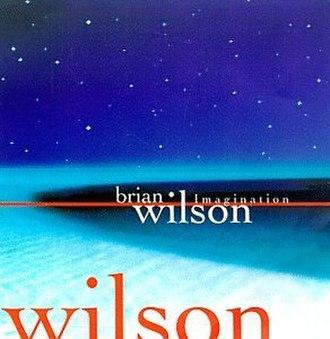 Imagination (Brian Wilson album) - Image: Imagination Cover
