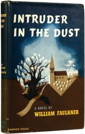 Intruder in the Dust - First edition cover (Random House)