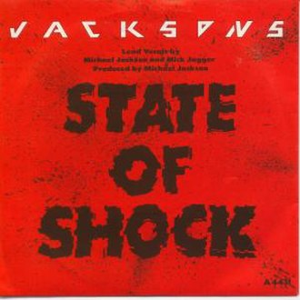 State of Shock (song) - Image: Jacksons state of shock