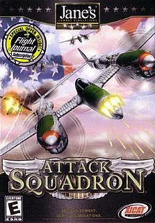 <i>Janes Attack Squadron</i> 2002 video game