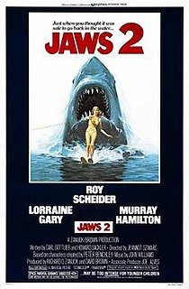 <i>Jaws 2</i> 1978 American horror film directed by Jeannot Szwarc