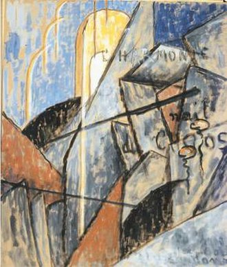 Jean Crotti - Jean Crotti, 1916, L'harmonie nait du chaos, gouache on cardboard, 58.3 x 47 cm