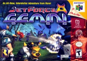 Jet Force Gemini - North American box art