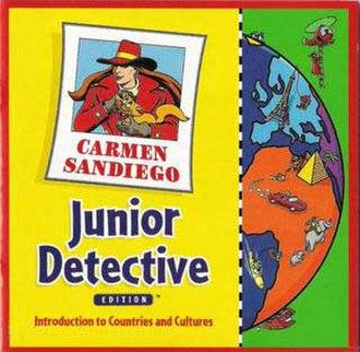 Carmen Sandiego: Junior Detective - The box cover for Junior Detective