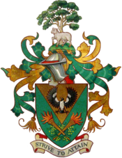 Kathleen lumley College coat of arms.png