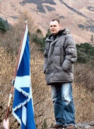 Kevin Williamson (writer) - Kevin Williamson at the Glencoe Rally.