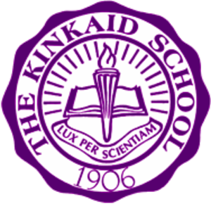 The Kinkaid School - Image: Kinkaid School Seal