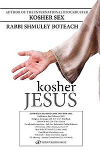 "Cover of the book ""Kosher Jesus"" by Shmuley Boteach"