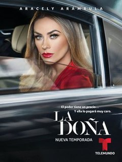 <i>La Doña</i> (season 2) 2020 American television season