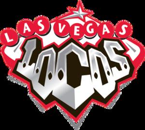 Las Vegas Locomotives - Image: Las Vegas Locos logo