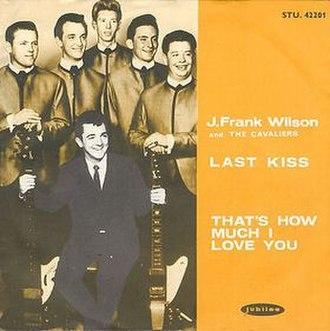Last Kiss - Image: Last Kiss Wilson