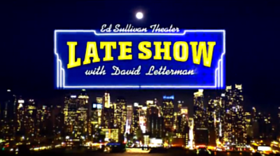 Picture of a TV show: Late Show With David Letterman