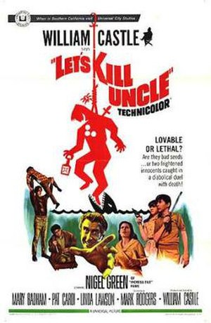 Let's Kill Uncle - Theatrical poster