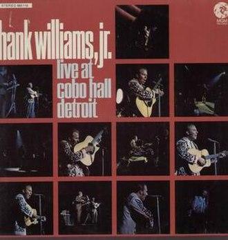 Live at Cobo Hall - Image: Live at Cobo Hall