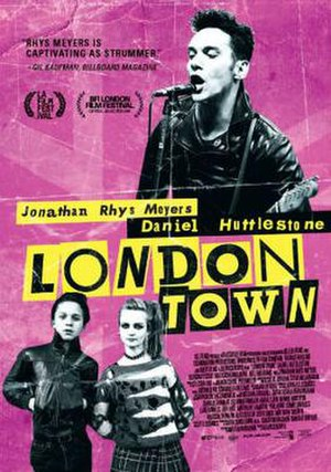 London Town (2016 film) - Theatrical release poster
