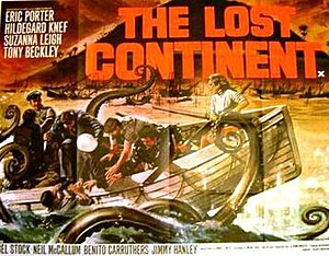 The Lost Continent (1968 film) - Film poster
