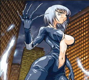 Black Cat (comics) - Marvel Mangaverse Black Cat. Art by Tommy Ohtsuka.