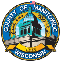 Official seal of Manitowoc County, Wisconsin