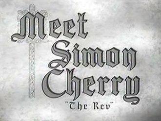 Meet Simon Cherry - Opening title card
