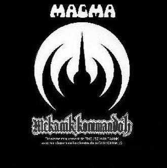 Mekanïk Kommandöh - Image: Mekanïk Kommandöh Cover